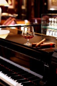 Piano Yoga works even better than cognac and cigars